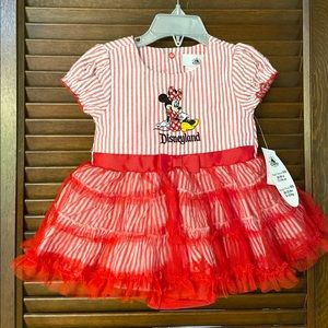 NWT infant Disney Minnie Mouse Disneyland Dress